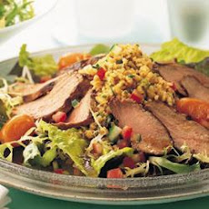 Marinated Duck Salad With Bulghur