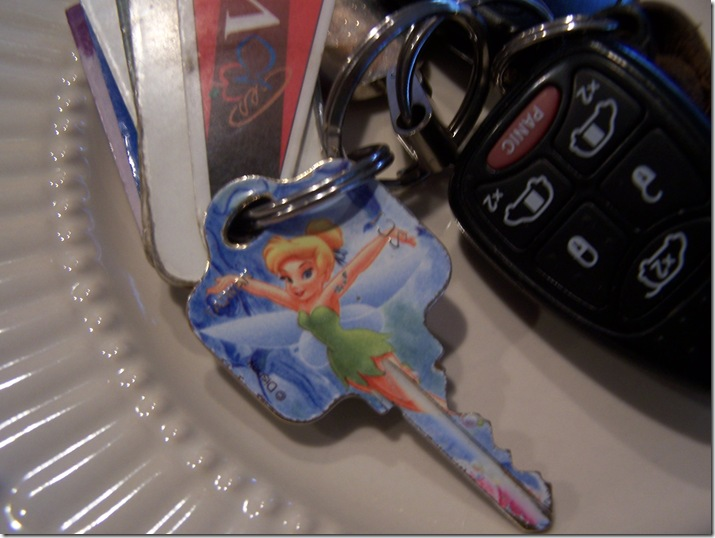 Tinker Bell Key 007