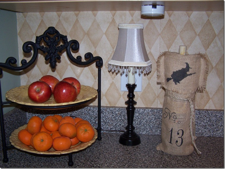 Burlap Wine Bag 029