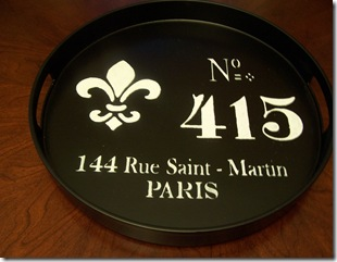French Tray 162