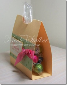Easter Goodie Bag Wrap side view