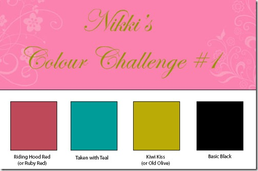 Colour Challenge #1
