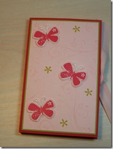 July Gift Post-It Note holder