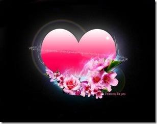 hati berbunga