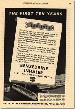1939benzedrine