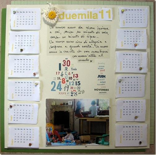 Calendario Chiara