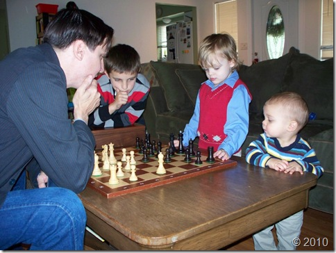 Curtis Chambers - Family Chess