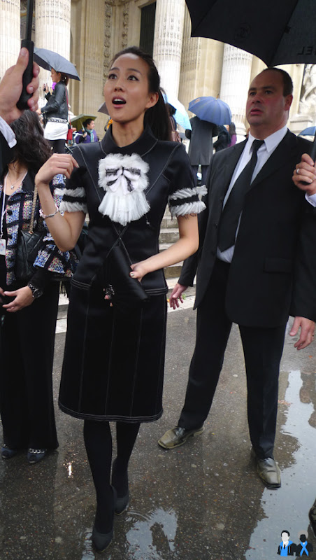 Chen Zhi Yang at chanel
