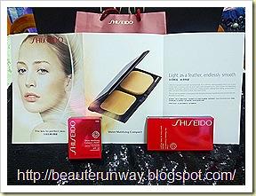 Shiseido sheer matifying compact 1