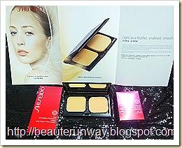 Shiseido sheer matifying compact 3