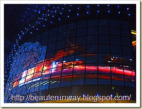 capitaLand facade lights off
