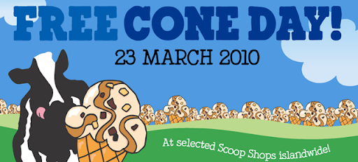 BEN & JERRY'S FREE CONE DAY ~ 23RD MARCH ~ BeauteRunway.Com ...