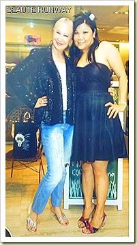 Beverly Feldman & me