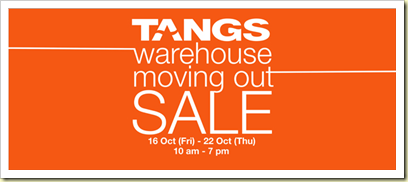 TangsWarehouse sale