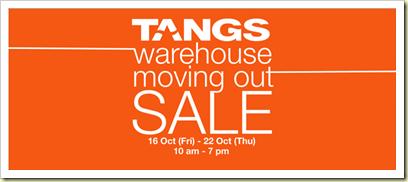 TangsWarehouse sale