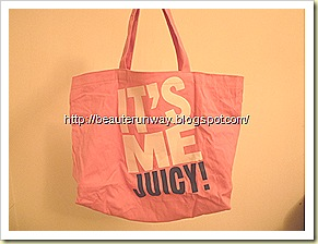 Juicy Couture Tote Bag  X Sweet