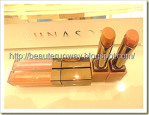 Lunasol nature summer 2010 collection glamour lips