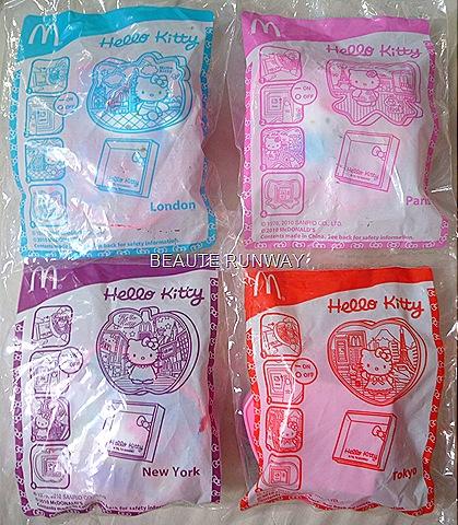 Hello Kitty Watches Mcdonalds 2010. HELLO KITTY X McDONALDS