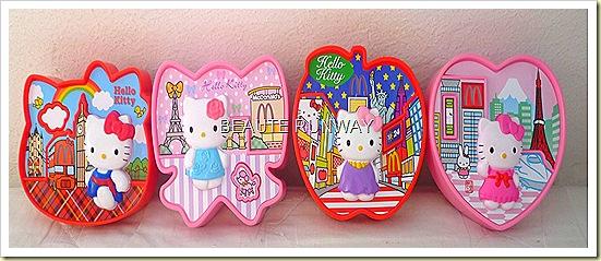 Hello Kitty London Paris New York Tokyo