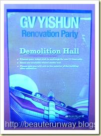GV Yishun 10 Demolition Hall