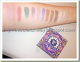 anna sui eye color swatches with flash