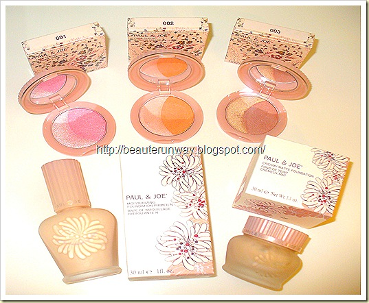 Paul & Joe Primer. creamy matt foundation and face colour new
