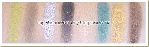 L'Oreal Hip Swatches Riotous, Platinum, Flashy, Bustling