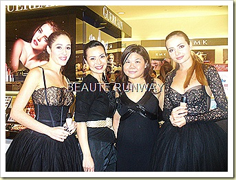 Andrea de Cruz and Beaute Runway