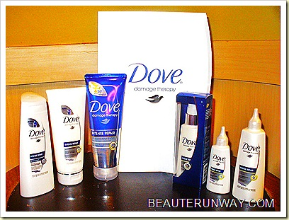 Dove damage Therapy Sysytem Intense Repair Hair Care