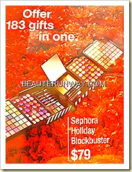 Sephora Holiday Blockbuster
