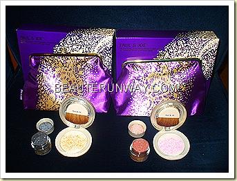 Paul & Joe highlighting Powder and Pearl set 001 Smoke & Mirrors and 002 Glow Magic