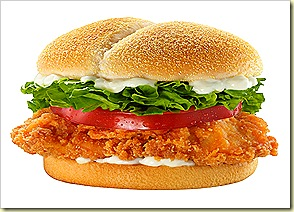 Burger King Spicy Tendercrisp Chicken