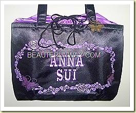 Anna Sui Tote bag charm 15th Anniversary drawstring