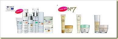 boots dermocare and boots no7 protect and perfect skincare