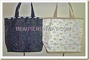 LeSportsac  tote bag berry blossom stardust Spring Summer 2011