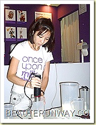 once upon a milkshake blending