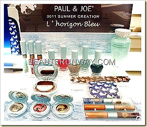 PAUL & JOE Summer Limited Edition 2011 L' Horizon Bleu