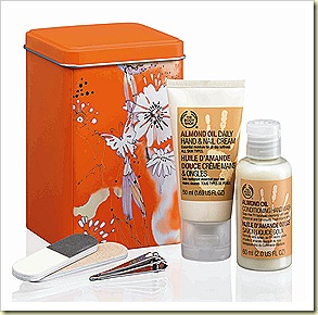 The Body Shop Almond Oil Hand and Nail Cream,  Minis