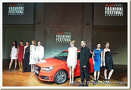 Audi Fashion Festival 2011 Press Conference Preview Singapore