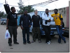 Band members in Lagos, Nigeria