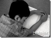 belajar tidur