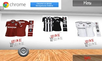 Screenshot of Besiktas Galeri