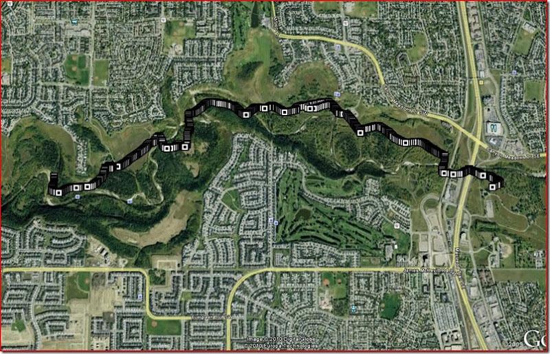 March 28 Awsome run route