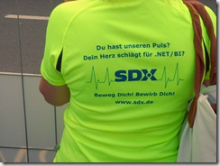 Lauf-Shirt (SDX AG, JPMCC)