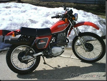 Honda XL 500 new