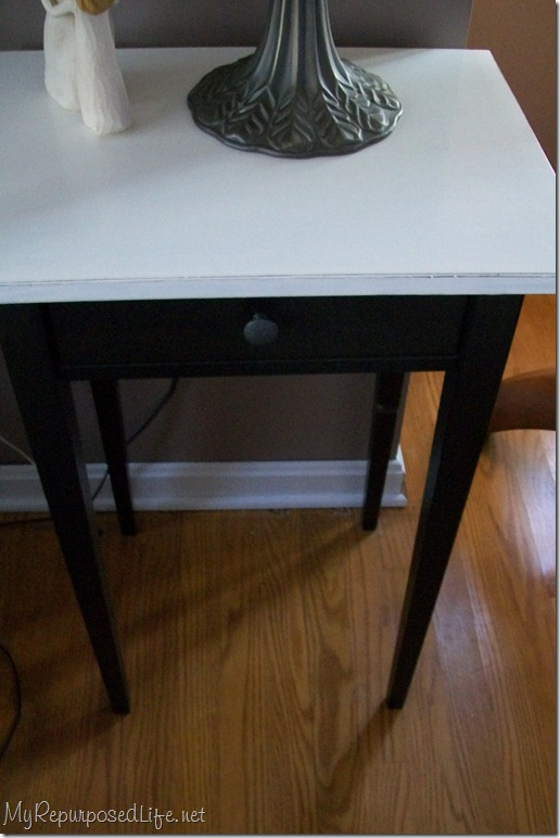 painted ikea table