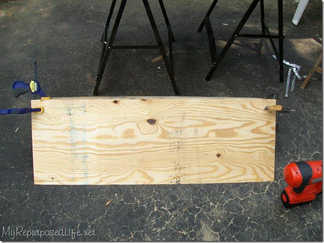 making a corner cabinet 2