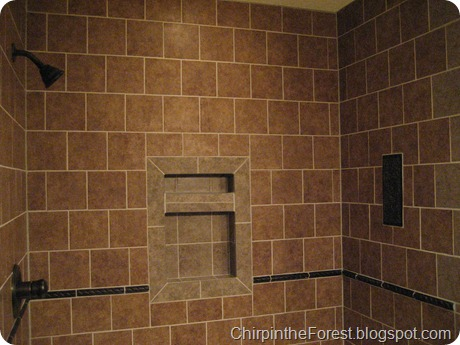 Tiled shower 1