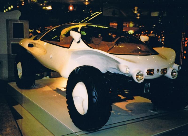 Необычный дизайн внедорожника Lada Gorbi впечатлил российских автолюбителей