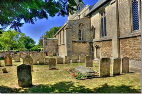 john clare's tranquil grave in helpston churchyard